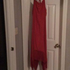 Cato fringe bottom dress